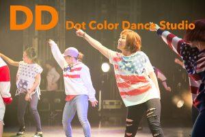 ドットカラーダンススタジオSNS用写真