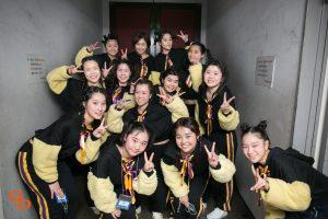 ドットカラーダンスの発表会でダンスをする村上あずさのヒップホップクラス7
