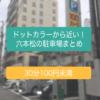 ドットカラーから【近くてお得な】六本松の駐車場をまとめました!