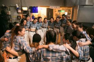 ドットカラーダンスの桃坂先生クラス上級