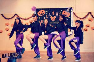 ハロウィン報告とクリスマスパーティーのご案内!福岡でダンス習うならイベント豊富なドットカラーへ!