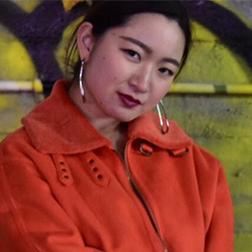 福岡のダンススタジオ、ドットカラー講師、ANNA