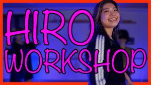 HiROのワークショップレポート!福岡でダンスを頑張る子に伝えたいメッセージ!
